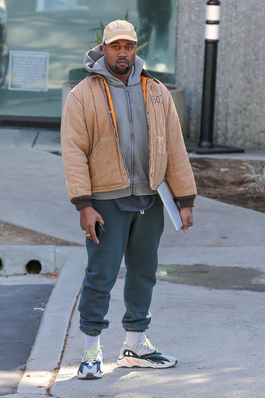 Kanye West arrives at Calabasas office   Sandra Rose