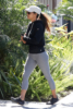 Halle Berry gets in a workout at the gym
