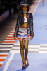 Eniola Abioro at The Tommy Hilfiger fashion show in Milan