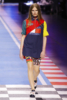 Adela Stenberg at The Tommy Hilfiger fashion show in Milan