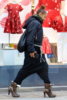 Janet Jackson out shopping for baby clothes in London