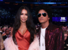 Bruno Mars and girlfriend Jessica Caban at 60th Annual GRAMMY Awards