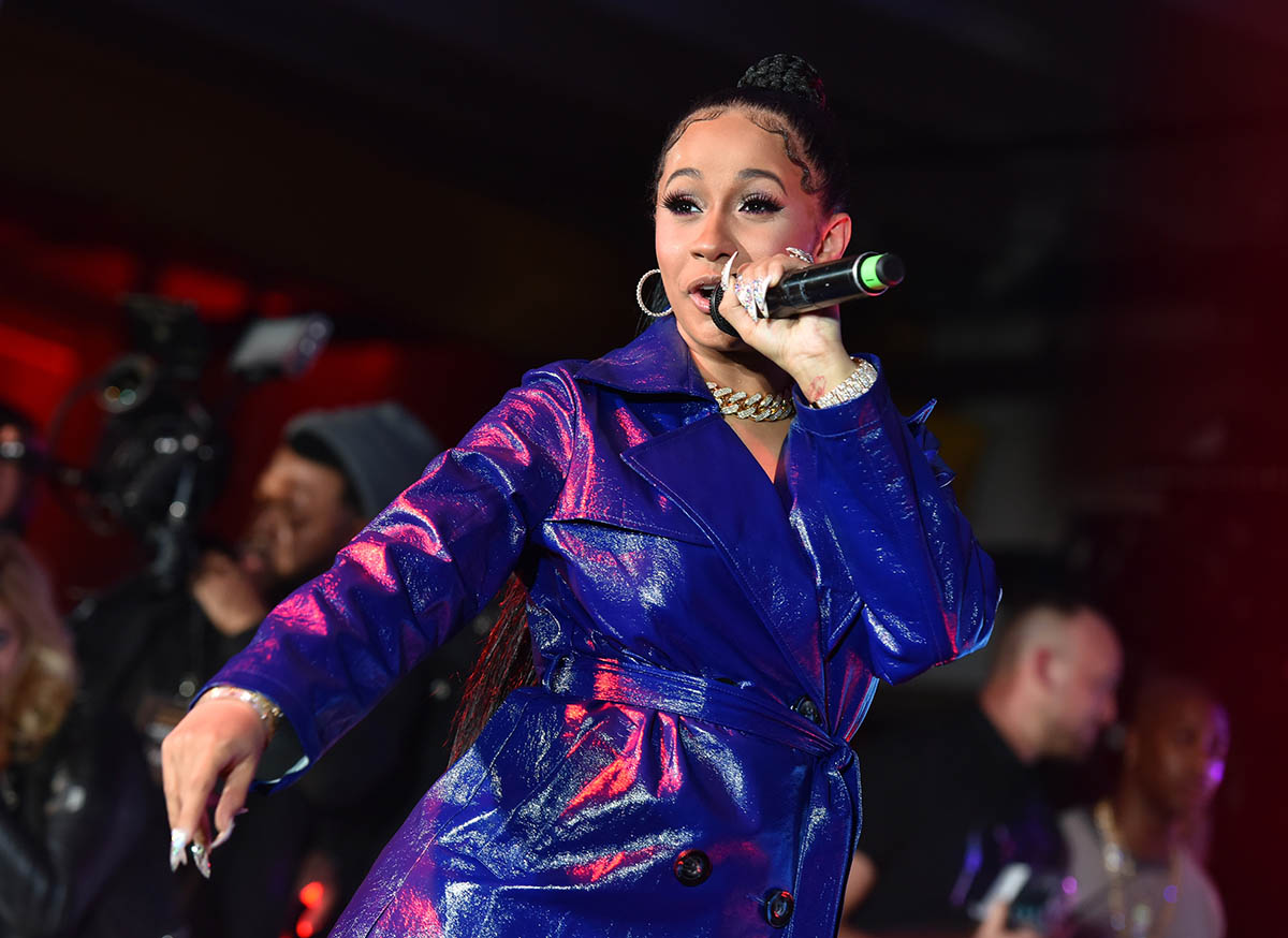 Cardi B Performing: Cardi B Performing At The 2018 Maxim Party Co-Sponsored By