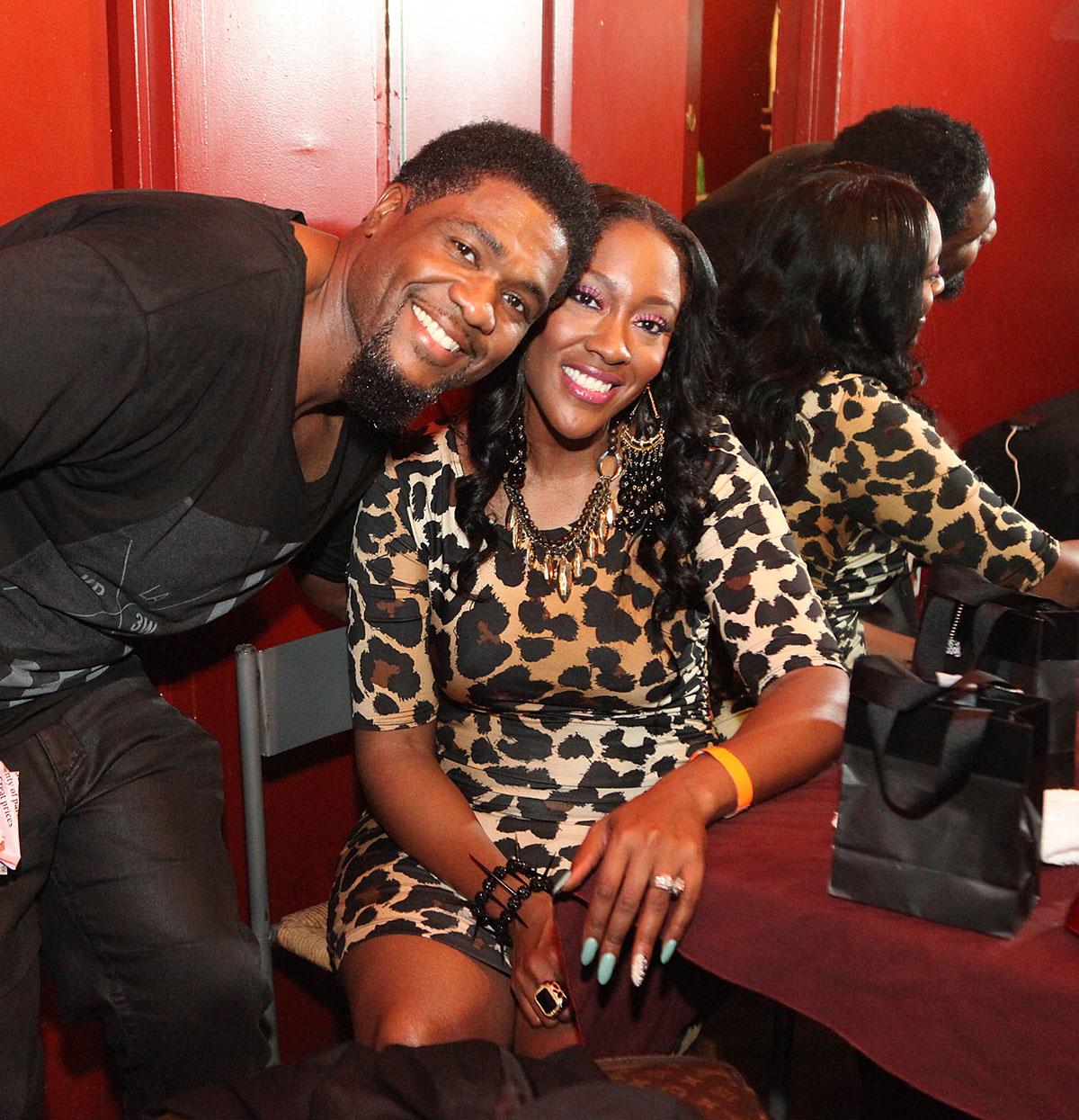 Big Mike Clemmons and Cheryl Coko Clemons split