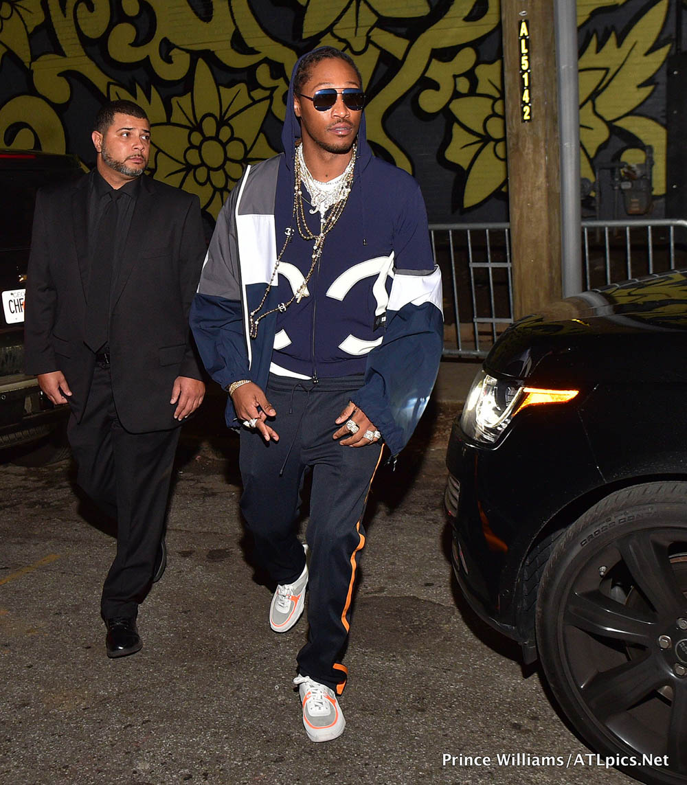 rapper future at mike will made it pluss grammy celebration
