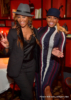 Cynthia Bailey (L) and NeNe Leakes (R) at Marlo Hampton's birthday party