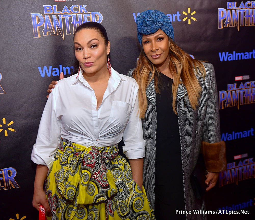 Egypt Sherrod (L) & Sheree Whitfield