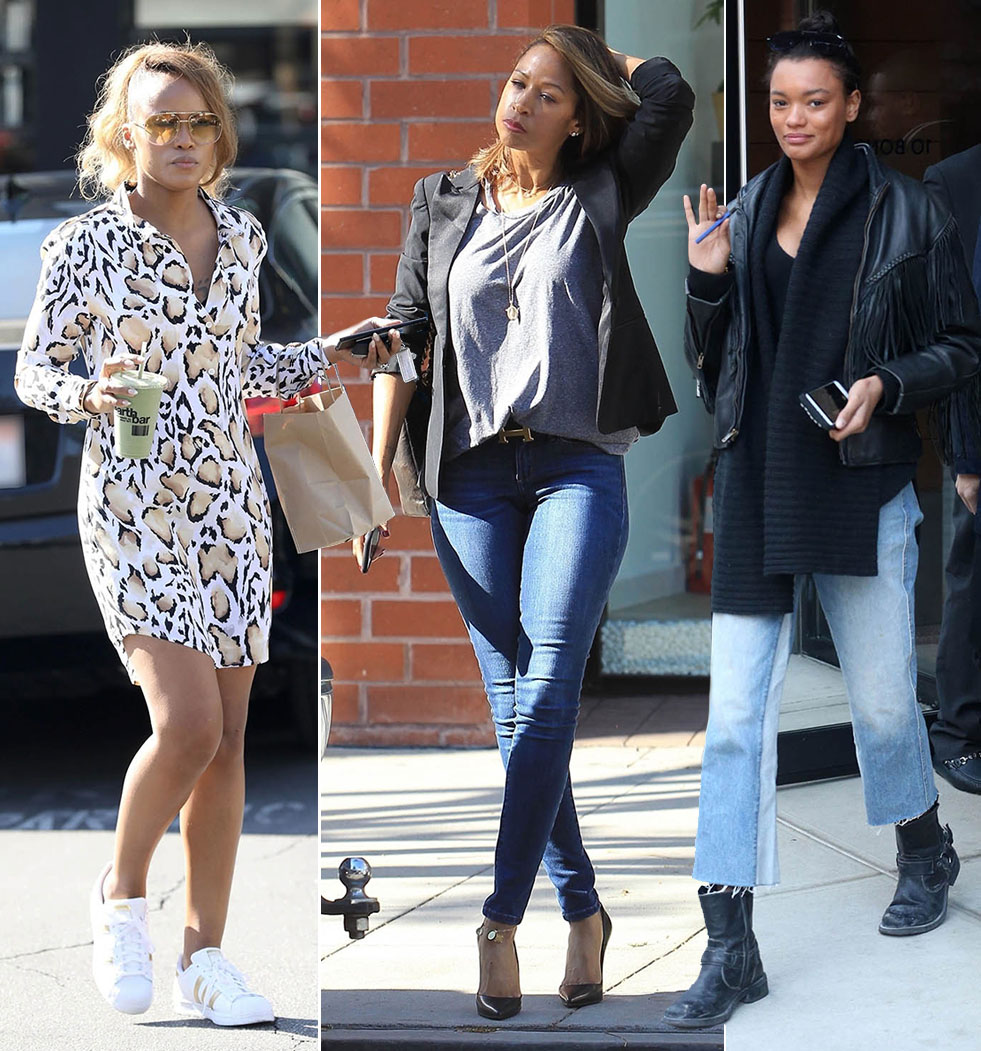 Eve Cooper, Stacey Dash, Lameka Fox