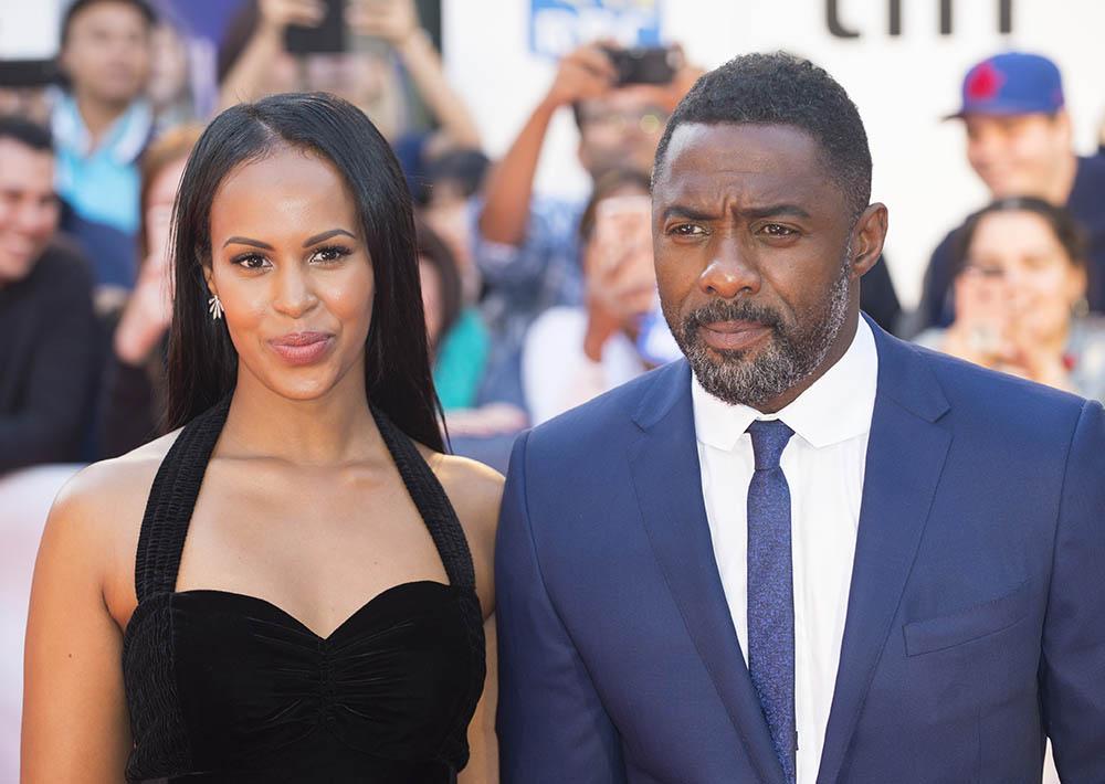 Idris Elba and Sabrina Dhowre at 42nd Toronto International Film Festival