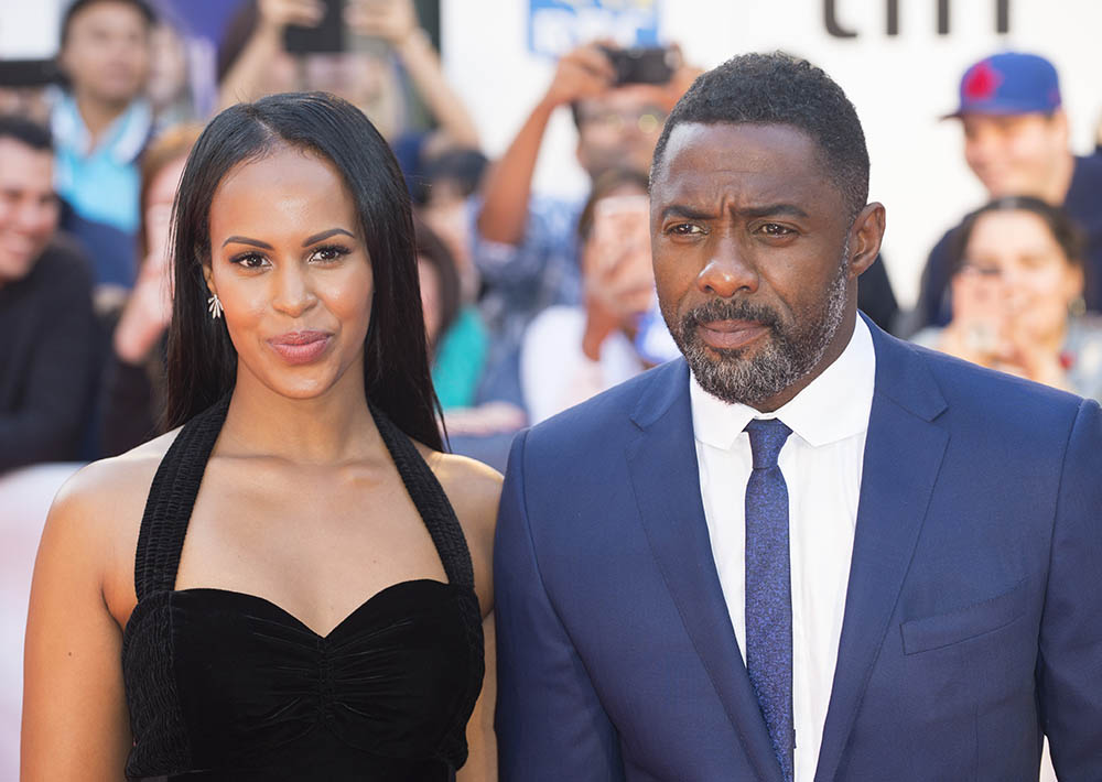 Idris Elba and Sabrina Dhowre at 42nd Toronto International Film Festival