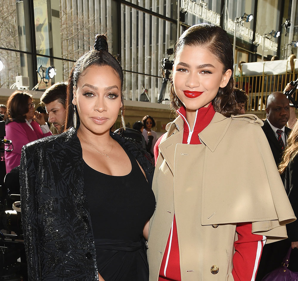 94f1647247a2 La La Anthony (L) and Zendaya atMichael Kors Collection Fall 2018
