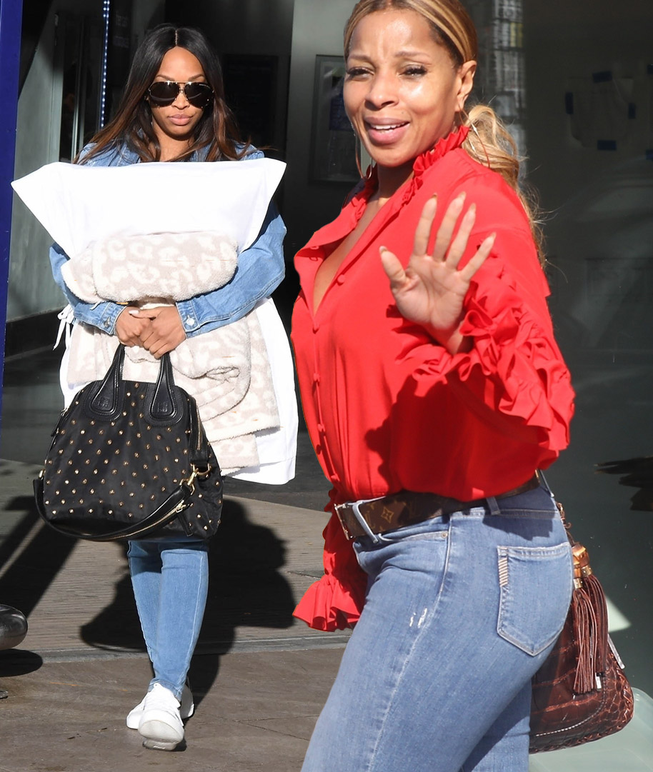 Malika Haqq and Mary J Blige out & out