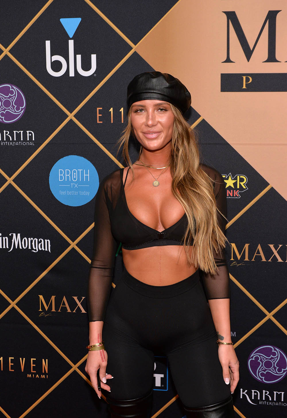 Niykee Heaton attends the 2018 Maxim Party co-sponsored by blu