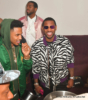 Trey Songz (L), Fabolous at Boulevard3