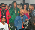 Chris Brown, Trey Songz at Boulevard3 in Los Angeles