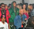 Chris Brown, Trey Songz at Boulevard3 in Los Angeles