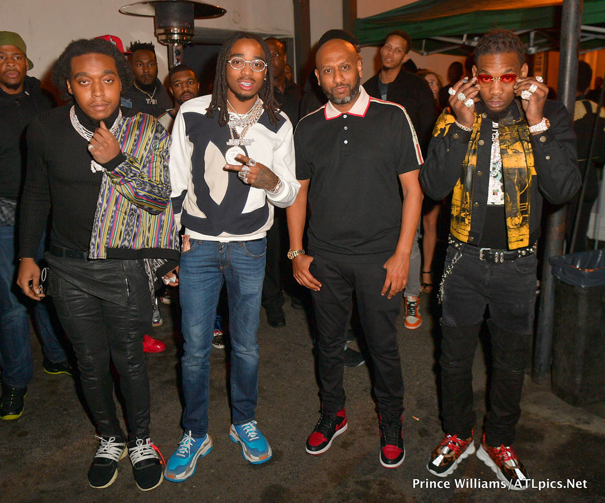 Migos Host NBA All-Star party at Boulevard3
