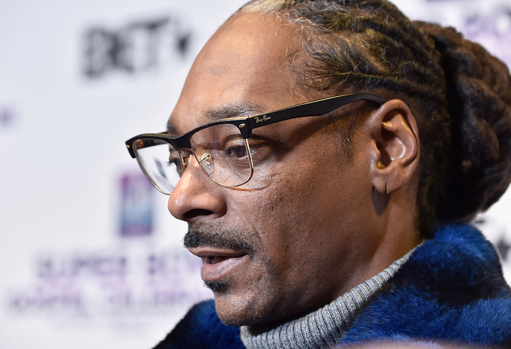 Snoop Dogg at BET Presents 19th Annual Super Bowl Gospel Celebration
