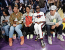 Eboni Nichols, Queen Latifah, Shante Broadus, Snoop Dogg, Chance the Rapper attend NBA All-Star Game