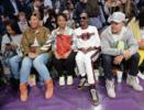 Eboni Nichols, Queen Latifah, Shante Broadus, Snoop Dogg, Chance the Rapper attend NBA All-Star Game