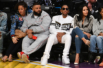 Nicole Tuck, DJ Khaled, Ludacris, Eduoxie attend NBA All-Star Game