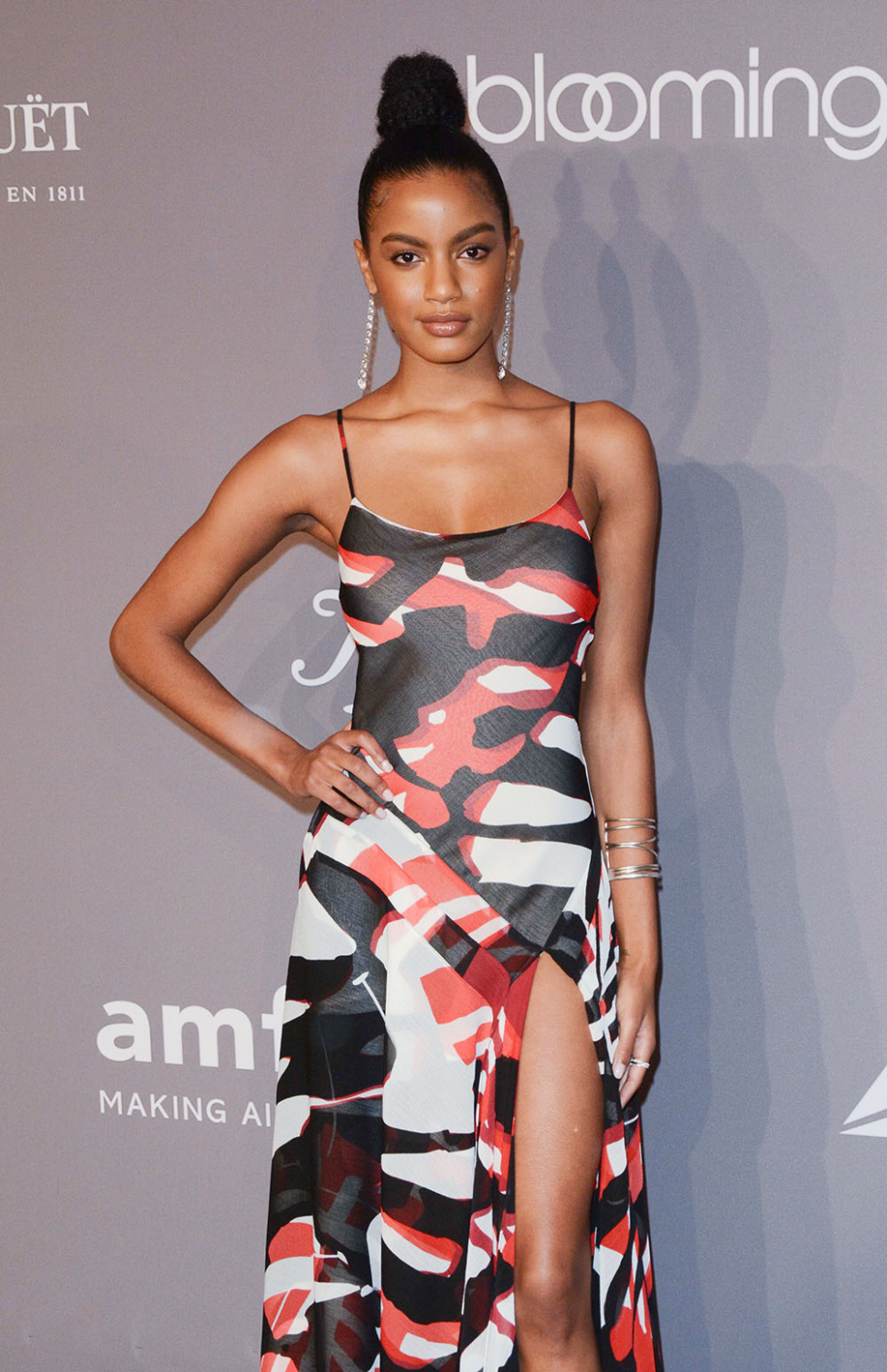 Ebonee Davis at amfAR Gala 2018