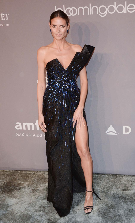 Heidi Klum at amfAR Gala 2018
