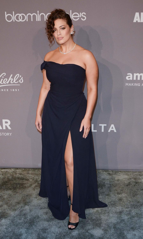 Ashley Graham at 2018 Amfar Gala
