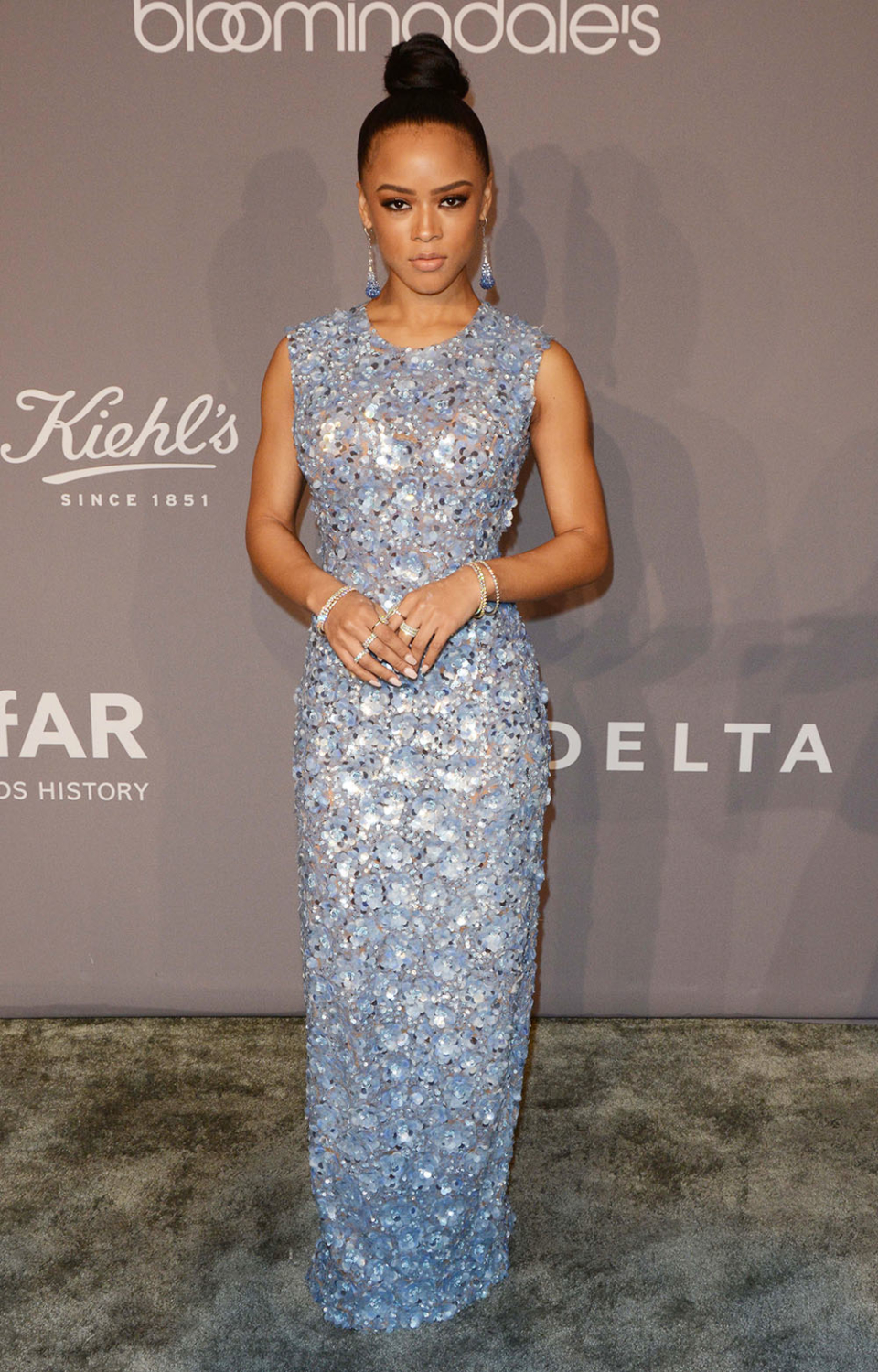 Serayah McNeill at 2018 Amfar Gala