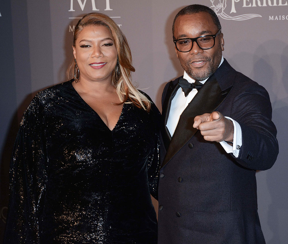 Queen Latifah, Lee Daniels at 2018 Amfar Gala