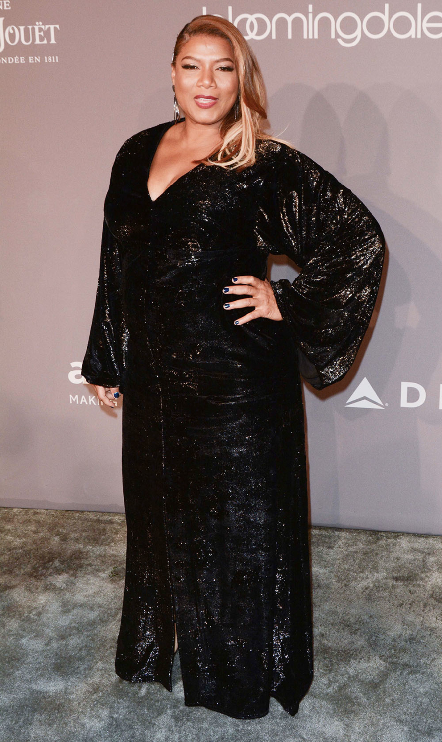 Queen Latifah at 2018 Amfar Gala