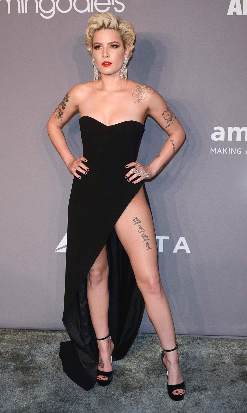 Halsey At 2018 Amfar Gala Sandra Rose