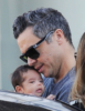 Cash Warren & Jessica Alba out with the family