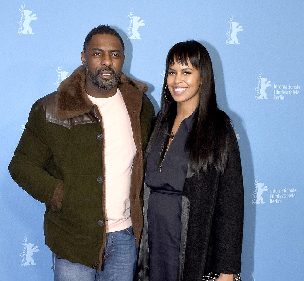 Idris Elba & Sabrina Dhowre attend the 68th International Berlin Film Festival