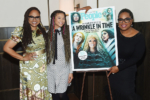 Ava DuVernay, Storm Reid, and Oprah Winfrey