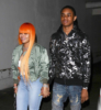 Blac Chyna and rapper YBN Almighty Jay in Studio City