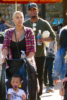 Ne-Yo spends the day with his kids at Disney California Adventure