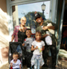Ne-Yo & Crystal Smith spends the day with their kids at Disney California Adventure