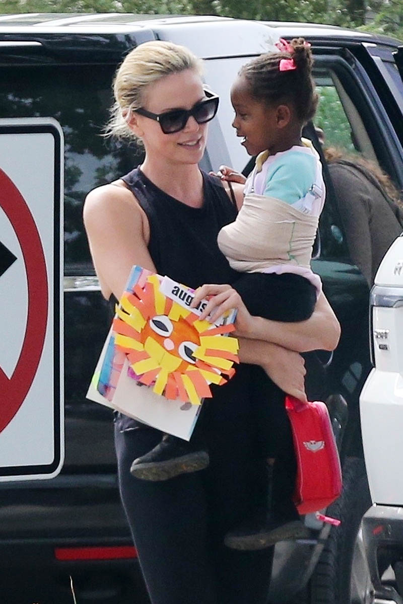 Charlize Theron, August Theron