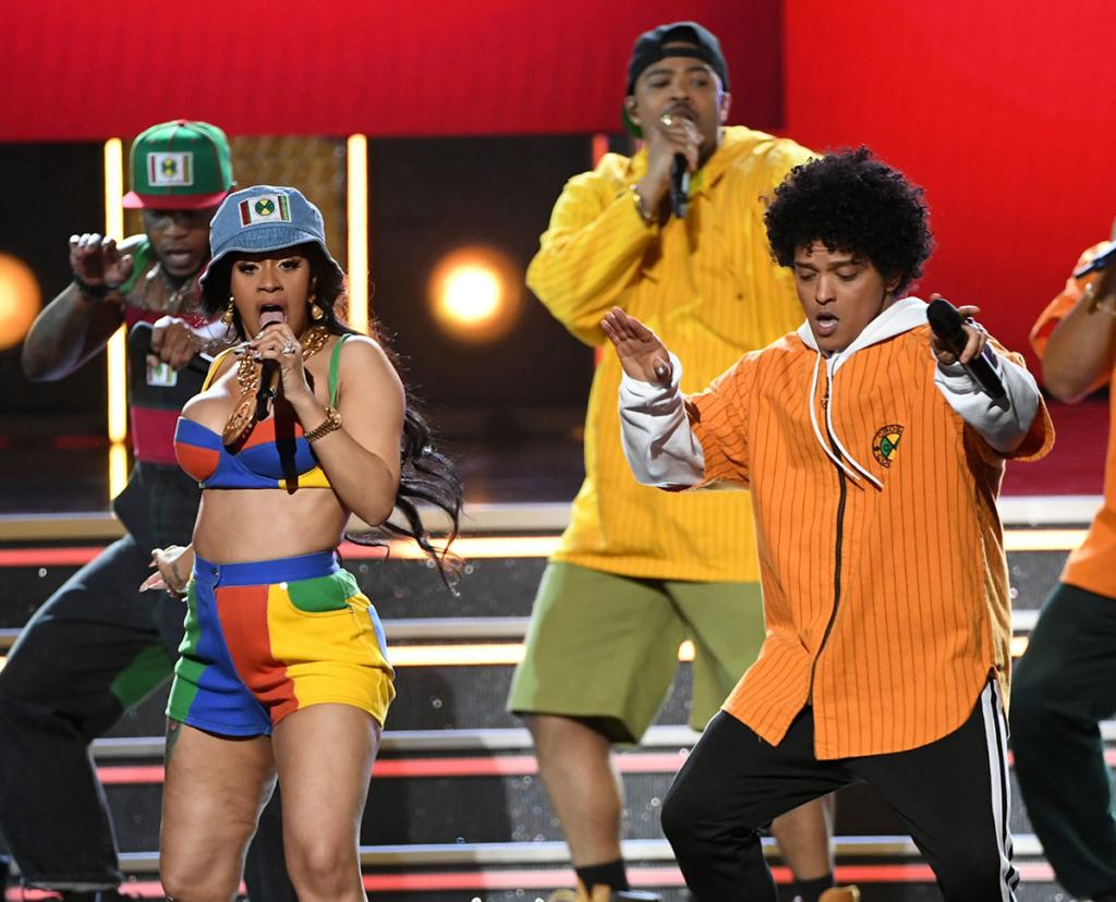 Cardi B, Bruno Mars