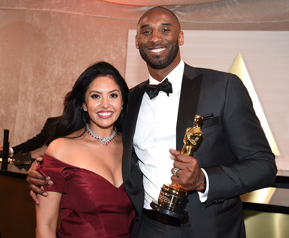 Kobe & Vanessa Bryant at the 90th Annual Academy Awards