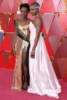 Lupita Nyong'o & Danai Gurira at the 90th Annual Academy Awards