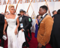 Mary J Blige & Daniel Kaluuya at the 90th Annual Academy Awards