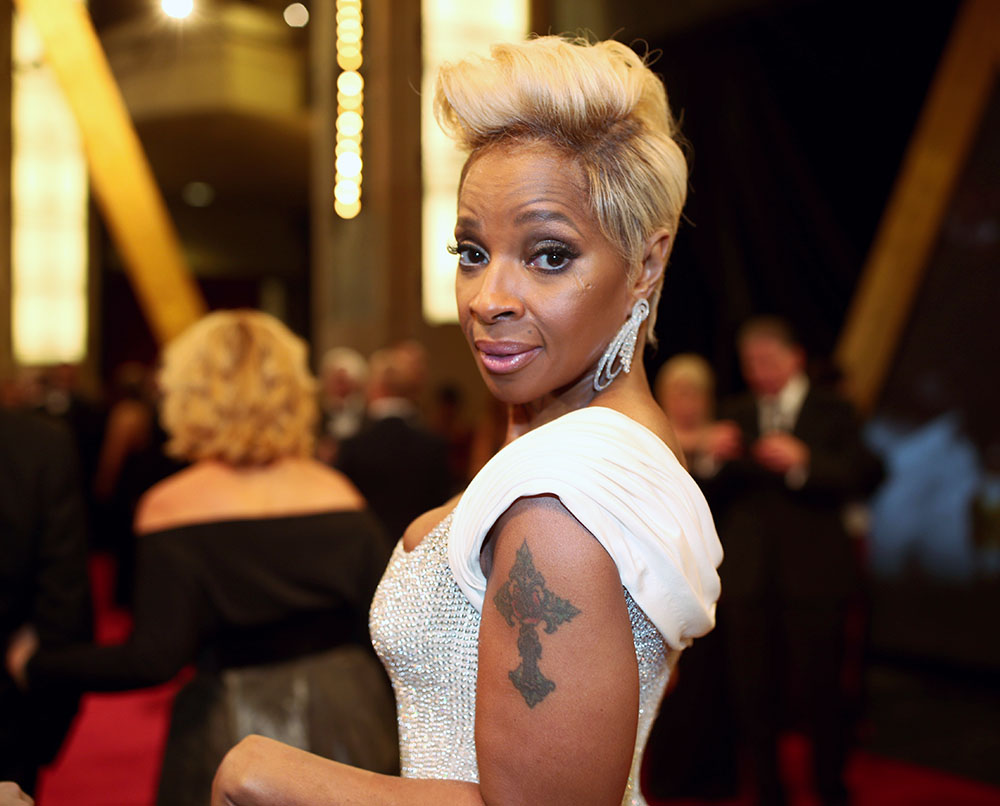Mary J Blige at the 90th Annual Academy Awards