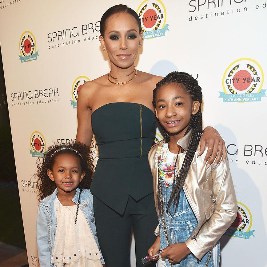 Madison Brown, Mel B, Angel Iris