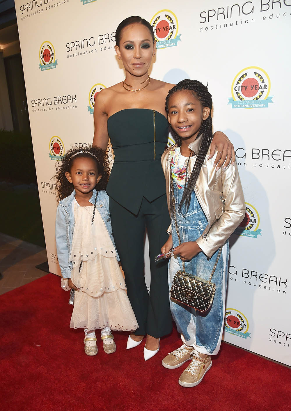 Madison Brown, Mel B, Angel Iris