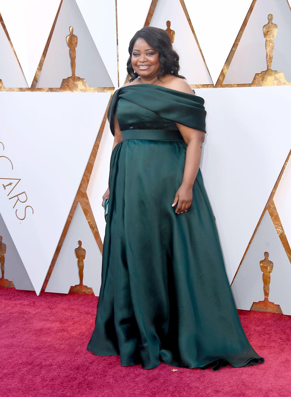 Octavia Spencer at the 90th Academy Awards