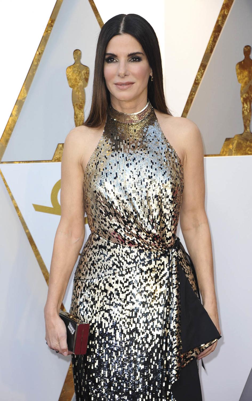 Sandra Bullock at the 90th Academy Awards | Sandra Rose