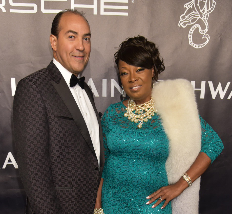 Ricardo Lugo and Star Jones