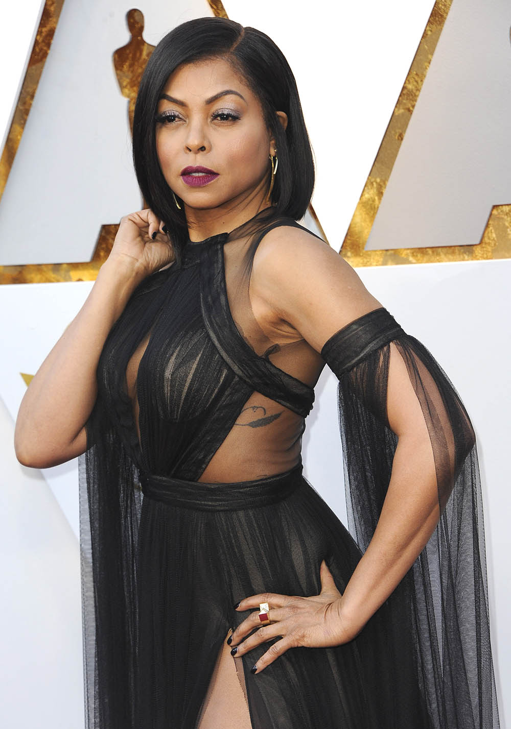 Taraji P Henson At The 90th Academy Awards Sandra Rose